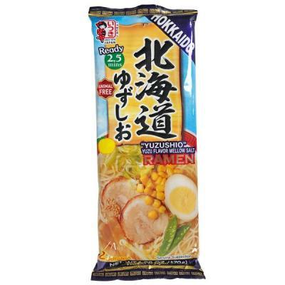 促销 ITSUKI 北海道拉面 柚子盐味 2人份 170g